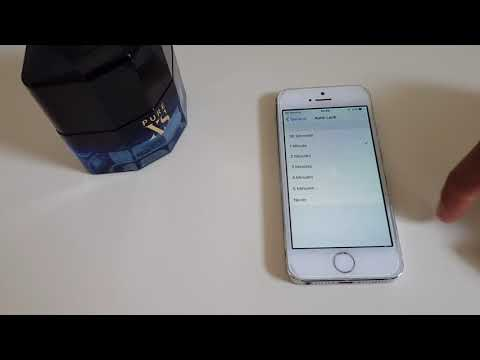 iPhone 5s How to Change - Screen Lock Time - Autolock