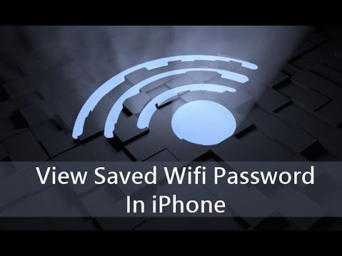 How to Get the password to any WiFi Network On an iPhone! [2016] in Urdu