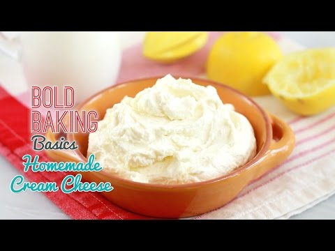 How to Make Cream Cheese - Gemma's Bold Baking Basics Ep  11
