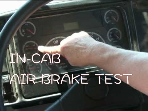 How To Pass Air Brake Test
