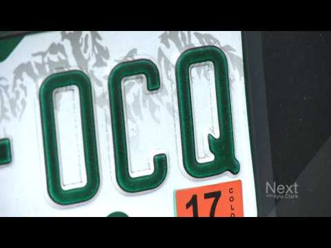 Q: Have you seen this on Colorado license plates?