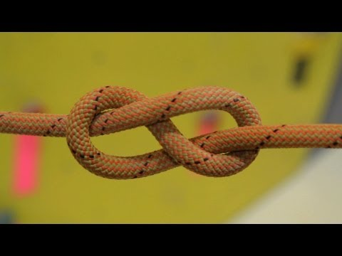 How to Tie Figure 8 Follow-Through Knot | Rock Climbing