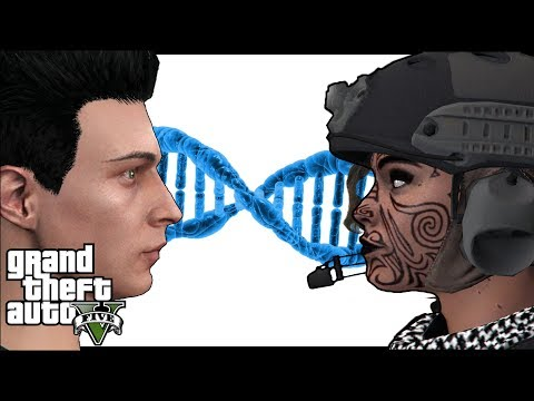 What happens when GTA 5 Online players crossbreed? Funny montage