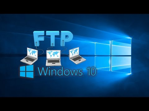How To Setup Local FTP in Windows10
