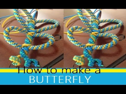 How to Make an Actual Butterfly Out of Boondoggle