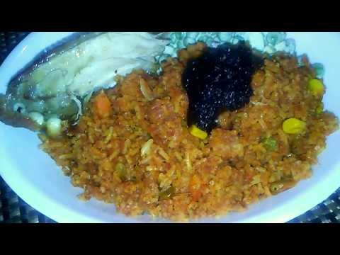 How to make my Corned Beef Jollof Rice Recipe: Really Easy!