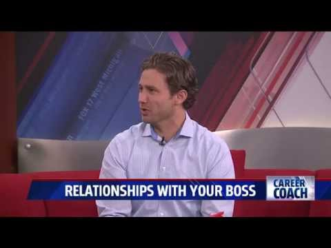 Career Coach on Fox 17 - Building a Good Relationship with Your Boss