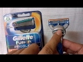 How to Put on Gillette Fusion Cartridge ?