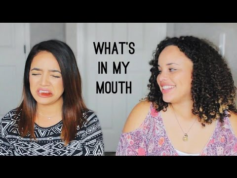 WHAT'S IN MY MOUTH CHALLENGE | Milca Rhodes
