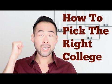 How To Choose The Right College or University For You