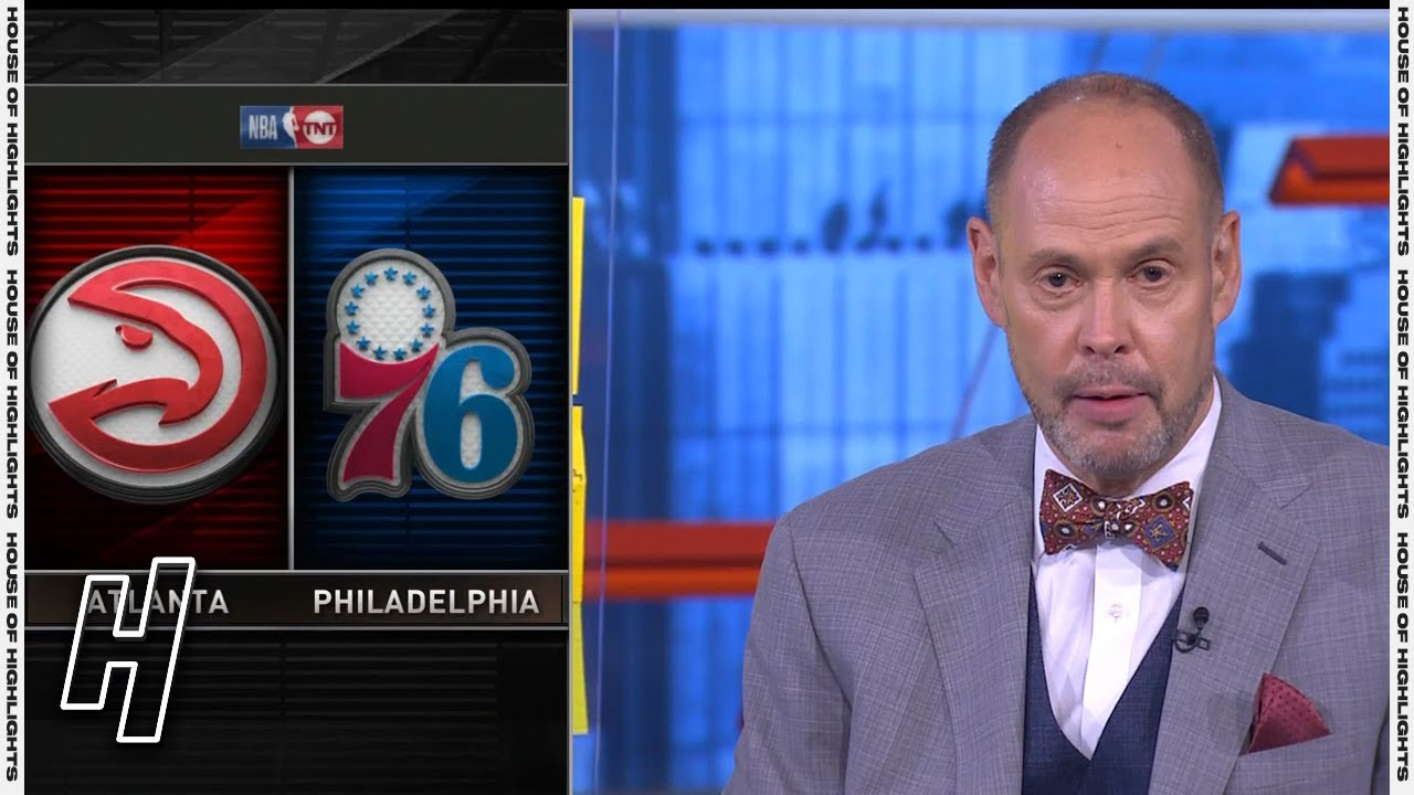 Inside the NBA Reacts to Hawks vs 76ers Game 5 Highlights   2021 NBA Playoffs