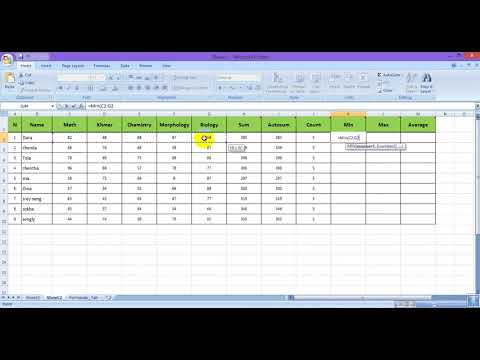 excel 2007 calculate formula #03
