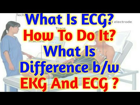 What Is ECG?How To Do This?Why is an ECG Test Done?Difference B/W ECG & EKG?