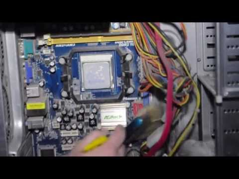 How to clean a dirty pc with a brush