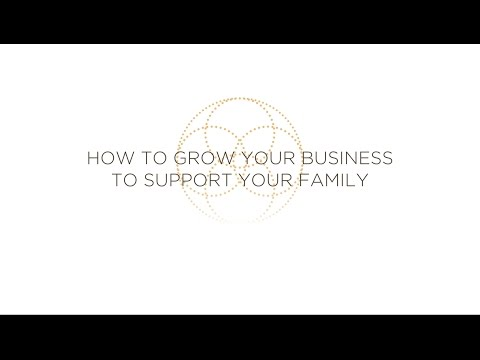 How to Build Your Business to Support Your Family - Kate Northrup