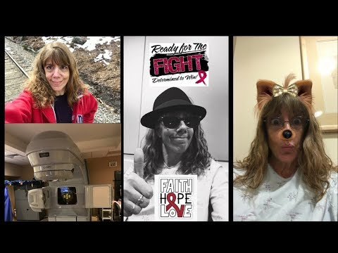 Radiation Begins ~ Plasmacytoma ~ Myeloma ~ And some Silliness ~ Humor helps