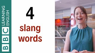 4 slang words - English In M Minute