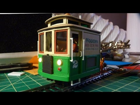 An On30 Boxcab Locomotive Kitbash
