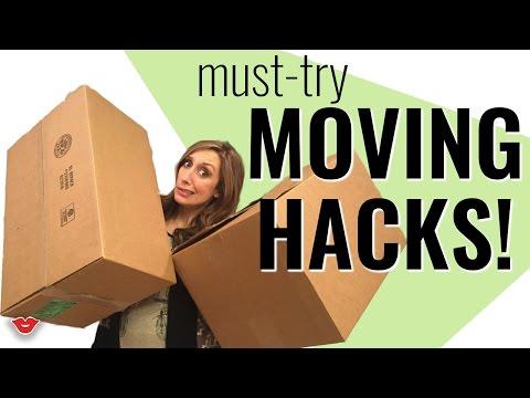 Must-Try Moving Hacks! | Jordan from Millennial Moms