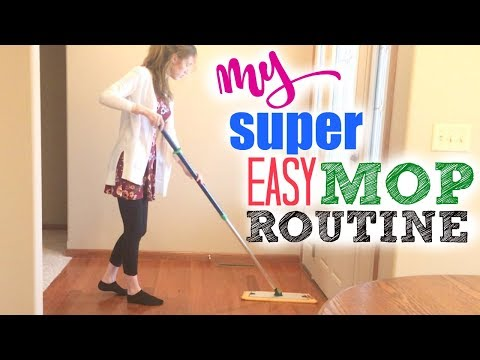 HOW TO MOP/CLEAN HARDWOOD FLOORS | MY MOPPING ROUTINE | NORWEX MOP SYSTEM DEMO | SPEED CLEAN WITH ME