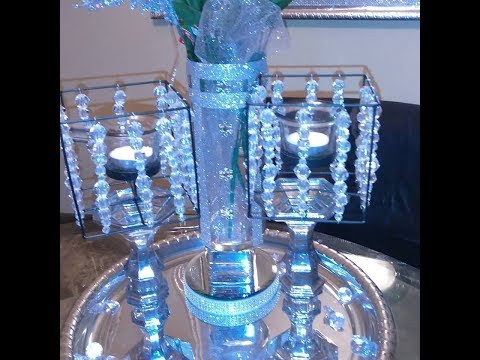 Diy Beaded Candle Holders pt 2 and my dollar tree haul