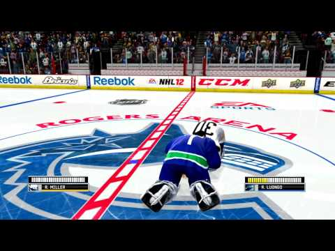 NHL 12: Goalie Fight Tutorial