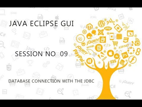 JAVA ECLIPSE GUI TUTORIAL   9   DATABASE CONNECTION WITH THE JDBC