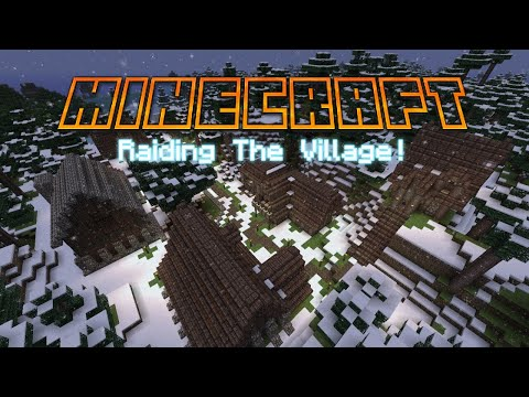 RAIDING THE VILLAGE!! | Minecraft Survival Series