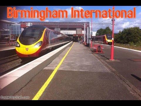 Trains at Birmingham International 9/8/14