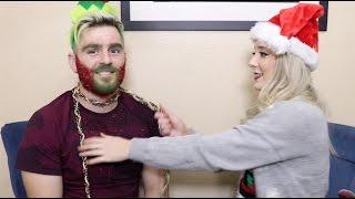Christmas Glitter Beard DIY