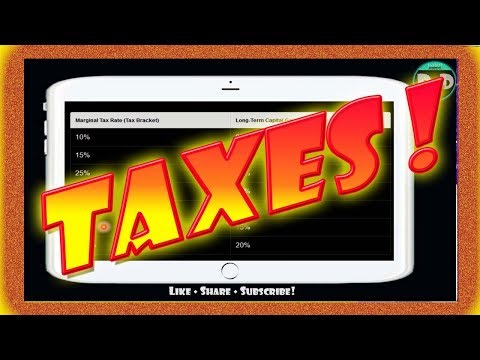 Stock Market TAX RATES   How to SAVE MONEY at TAX TIME!
