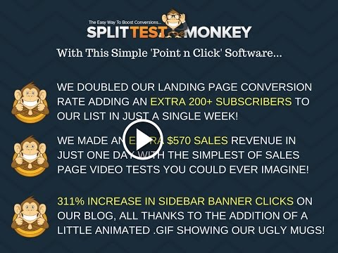 Split Test Monkey Software Demo