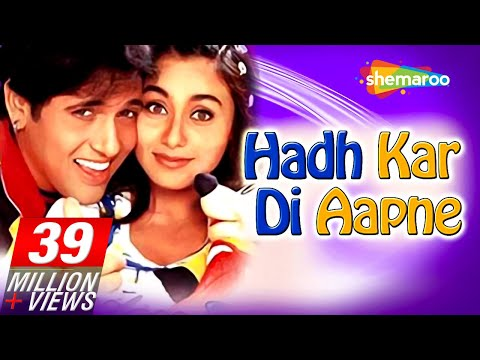 Xxx Mp4 Hadh Kardi Aapne HD Govinda Rani Mukerji Johnny Lever Hindi Full Comedy Movie 3gp Sex