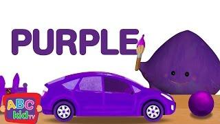 Color Song - Purple | CoCoMelon Nursery Rhymes \u0026 Kids Songs
