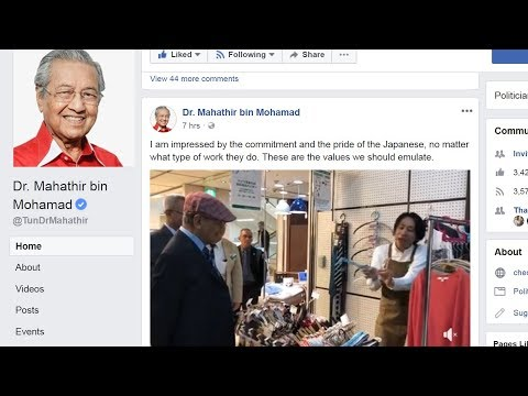 Dr M still very fond of Japan after Look East Policy