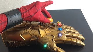 Download Spiderman Far From Home Unboxing Realife THANOS INFINITY GAUNTLET Video