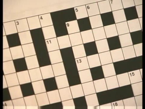 How to Make a Crossword Puzzle : Numbering a Crossword Puzzle Grid