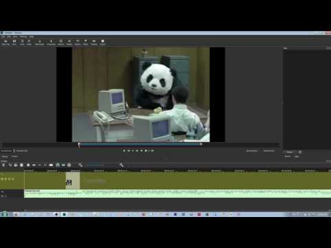 How to perform Splitting and Trimming in the Shotcut Video Editor