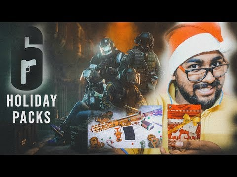 Rainbow Six Siege Holiday Pack + Epic weapon Skin