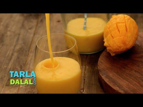 Mango Milkshake by Tarla Dalal