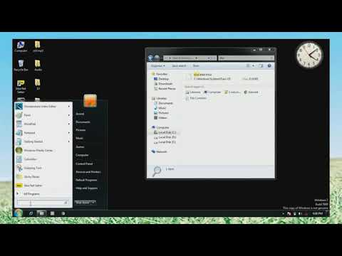 windows 7 ultimate build 7601 not genuine fix