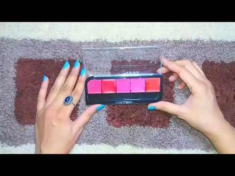 Bonjour Paris Professional Lip Palette | Swatches & Review.