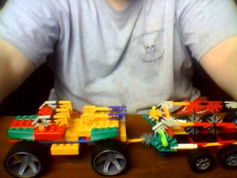 KNEX Boat and trailer truck
