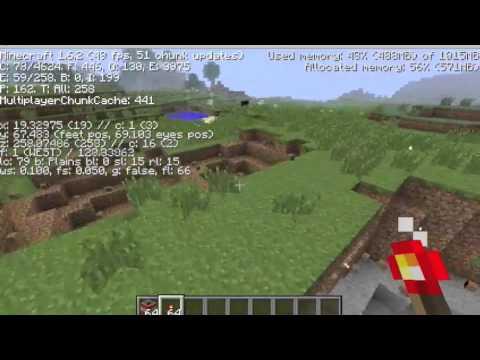 Minecraft FPS Test: 2012 Macbook Pro 13 Inch Non-Retina