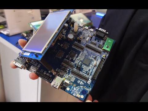 ARM Cortex-M7 in STM32 F7 STMicroelectronics, IS2T MicroEJ Java apps store for embedded market