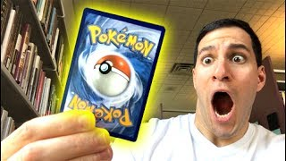 I PULLED ONE OF THE RAREST POKEMON CARDS IN THE LIBRARY!