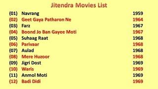 Jeetendra Movies List