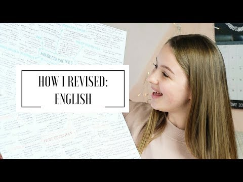 HOW I REVISED: GCSE ENGLISH LITERATURE & ENGLISH LANGUAGE | A* student
