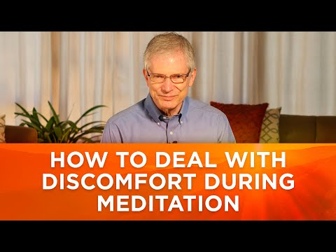 Rolf Sovik, PsyD - What Should I Do if My Foot Falls Asleep During Meditation?