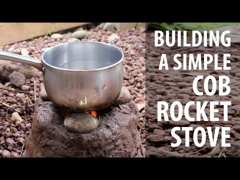 Building a Simple Cob Rocket Stove (TCEG Episode 8)